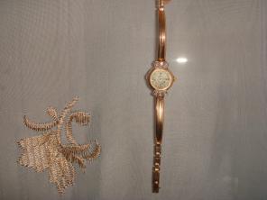 53cd1561 Золотые часы Чайка без браслета в Волгограде Швейцарские часы